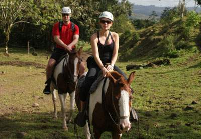 Jaco Costa Rica Horse back riding
