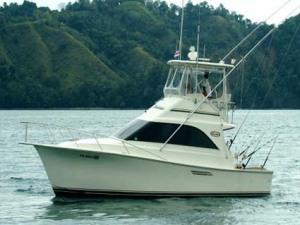 Los Suenos Charter Boat Barnacle 35 Feet